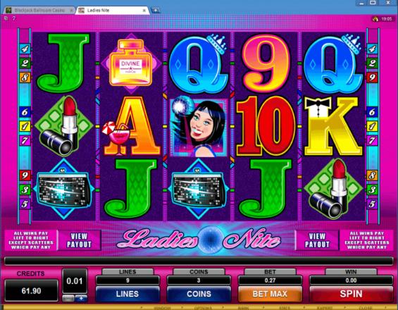 Ladies Nite Online Slots