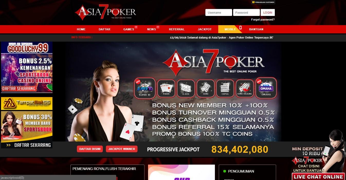 Situs Poker Online Terpercaya Site